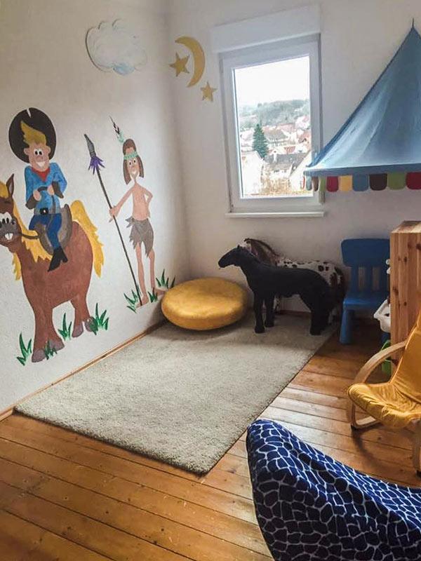 Spielzimmer für Kinderbetreuung bei Tagesmutter Mamacita in Keltern